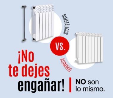Los radiadores bimetálicos no están aprobados en Argentina