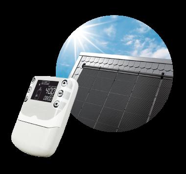 Sistema de climatización solar de piscinas
