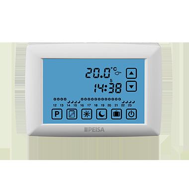 Termostato de Ambiente Pantalla Táctil