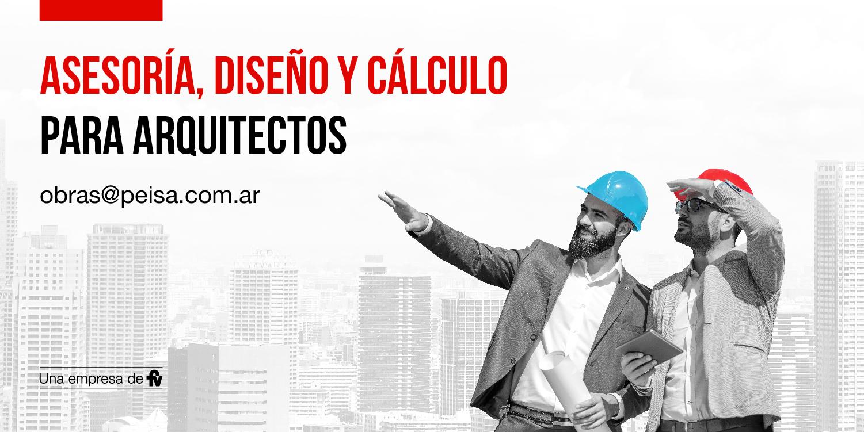Asesoría, diseño y cálculo para arquitectos